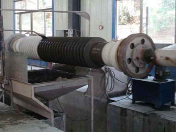 glazing-and-sand-spray-machine-for-post-insulators